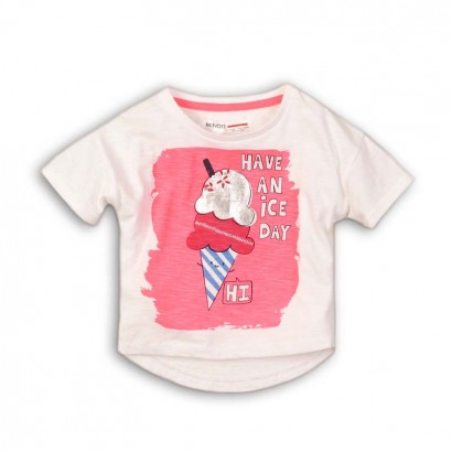 Baby Girl T-shirt Minoti Have an Ice Day
