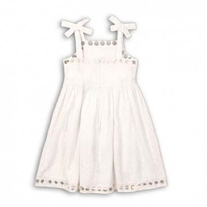 Girls Open work Dress Minoti