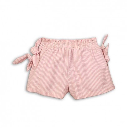 Baby Girl Knot Detail Shorts Minoti