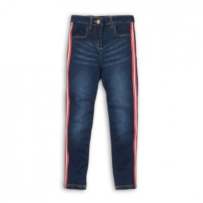 Girls Stripe Detail Jeans Minoti
