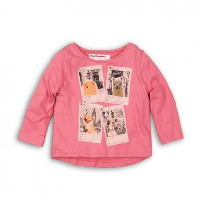 Baby Girls Long Sleeve t-shirt Minoti