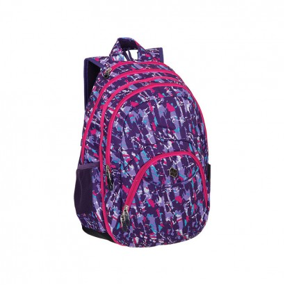 Pulse Girlss Rucksack 2-in-1 Purple Collision