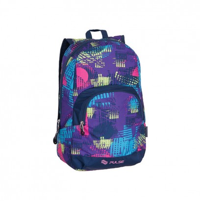 Pulse Girls Backpack Solo Purple Aspect