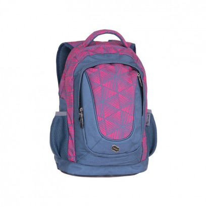 Pulse Girls Backpack Music Pink Triangle