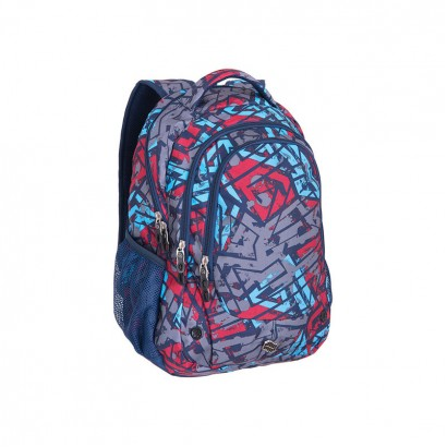 Pulse Boys Backpack Blast Blue Labyrinth