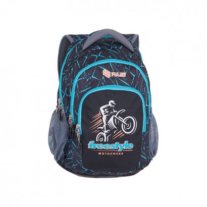 Pulse Boys Backpack Teens Freestyle