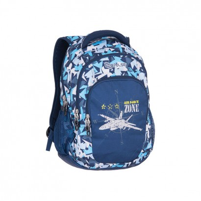 Pulse Boys Rucksack Teens Air Force