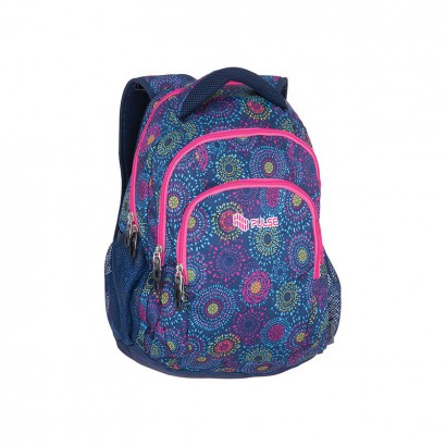 Pulse Girls Rucksack Teens Summer Firework