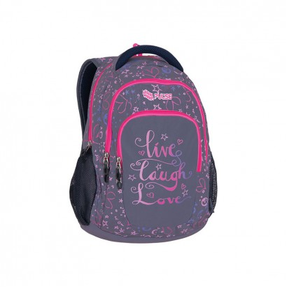 Pulse Girls Backpack Teens Live laugh love