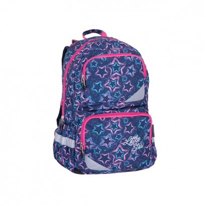 Pulse Girls Backpack Anatomic xl blue Star