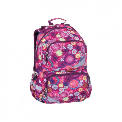Pulse Girls Backpack Anatomic xl Purple Flower