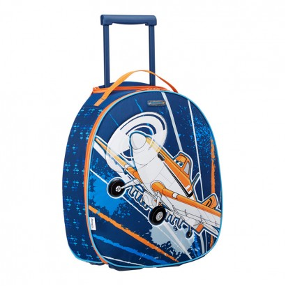 Samsonite Disney Wonder Kids Backpack with Wheels Planes Contrails