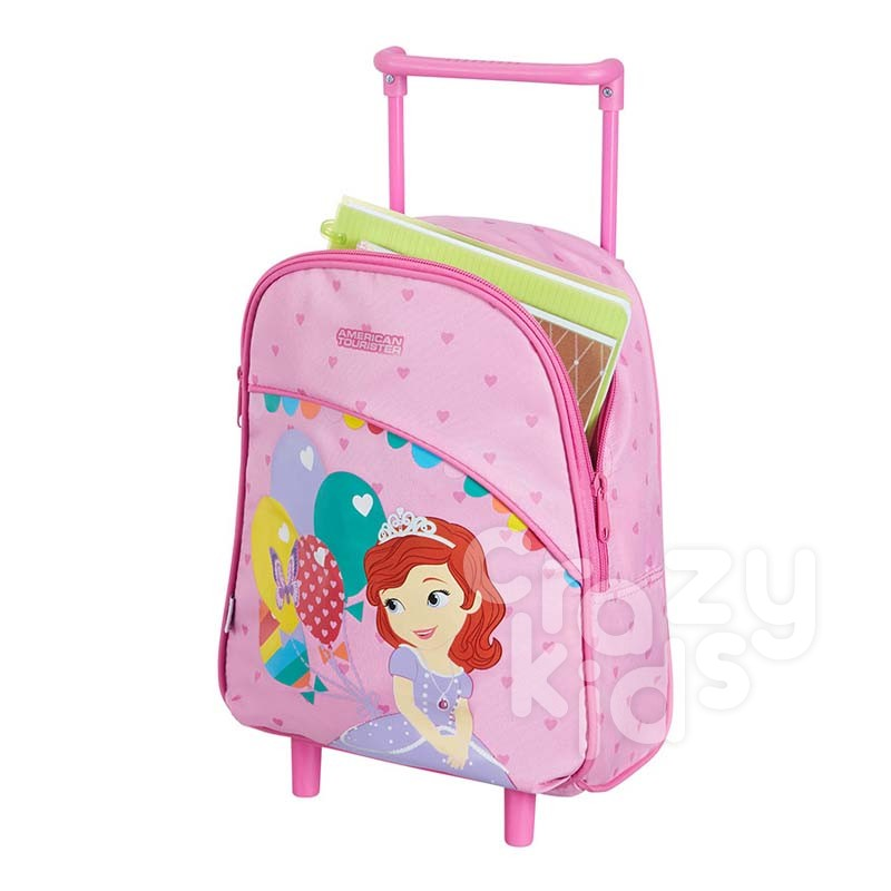 Samsonite New Wonder Upright 2 Wheels School Bag Sofia The First