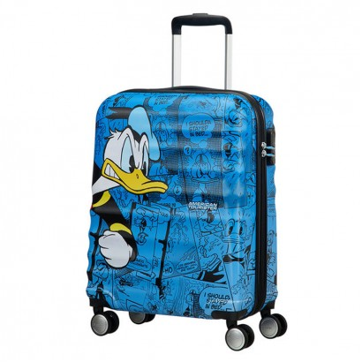 Samsonite Spinner 4-wheels Wavebreaker Donald Duck 55 cm