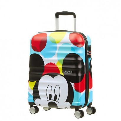 Samsonite 4-Wheel Spinner 55cm Wavebreaker Mickey Close Up АТ