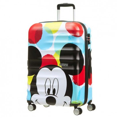 Samsonite 4-Wheel Spinner Wavebreaker Mickey Close Up АТ  67cm