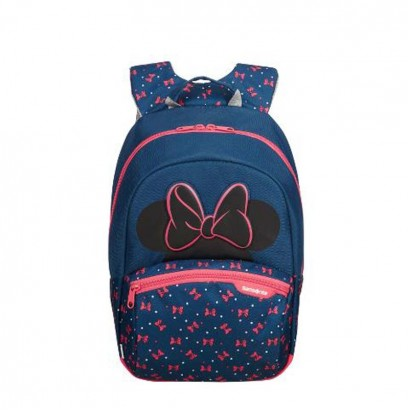 Samsonite Kids Backpack Disney Ultimate Minnie Neon Size S plus