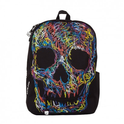 Samsonite AmericanKids Backpack Crayon Scull