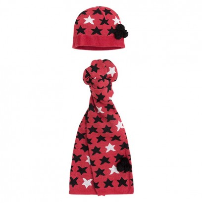 Girls Set of Beanie and Scarf Tuc tuc NO RULES