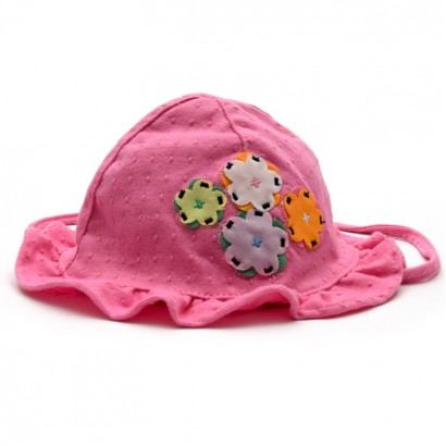 "Tuc Tuc Baby hat for girl ""BIRD TROPIC"""