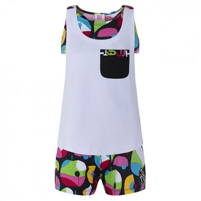 Girls Top and Shorts Set Tuc Tuc Pop