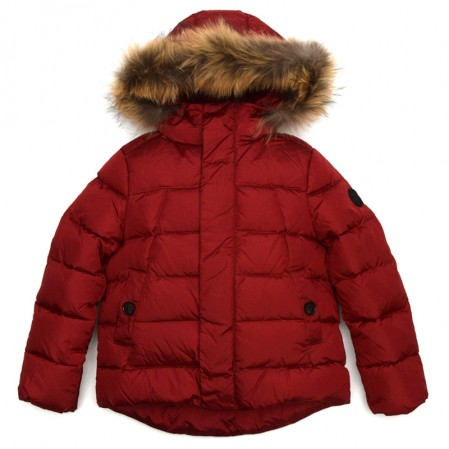 Kids Unisex Hooded Jacket Baby A