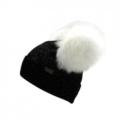 Girls Knitted Hat with Pom pom Fox Trestelle