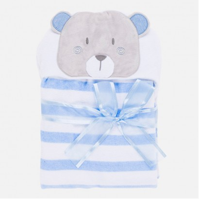 Baby Applique Hooded Towel Mayoral