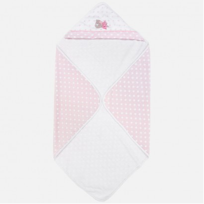 Baby Polka Dot Hooded Towel Mayoral