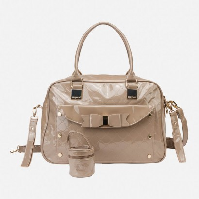Bag for baby accessories Mayoral varnished leather