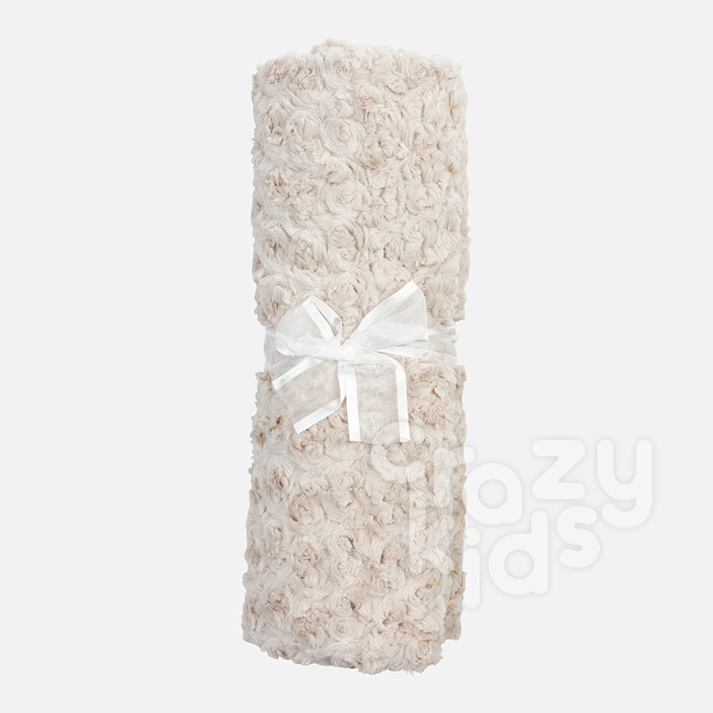 Faux Fur Baby Blanket Mayoral