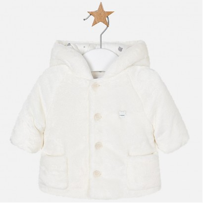 Baby Faux Fur Coat Mayoral