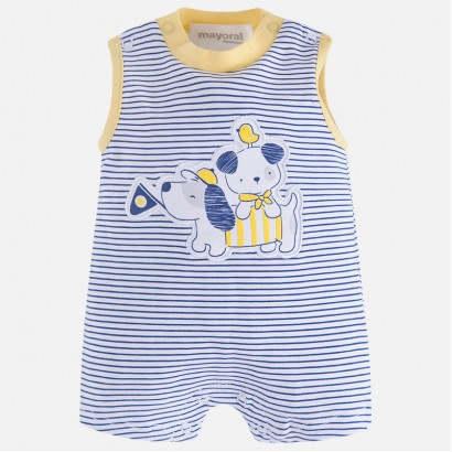Baby Boys Sleeveless Romper Mayoral
