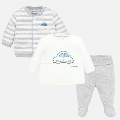 Sport baby set with cardigan Mayoral