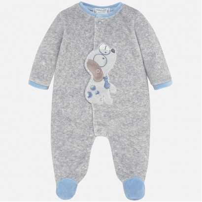 Plush baby pyjamas Mayoral