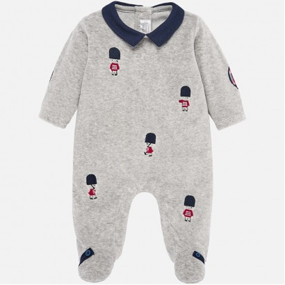 Baby boy overall with collar Mayoral