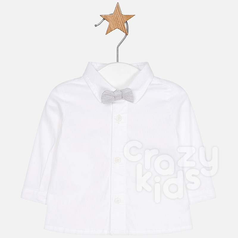 Baby Boys Shirt with Bowtie Mayoral