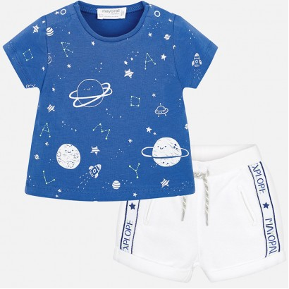 Baby Boys Space 2-Piece Set Mayoral