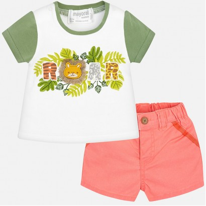 Baby Boys Shorts Set Mayoral