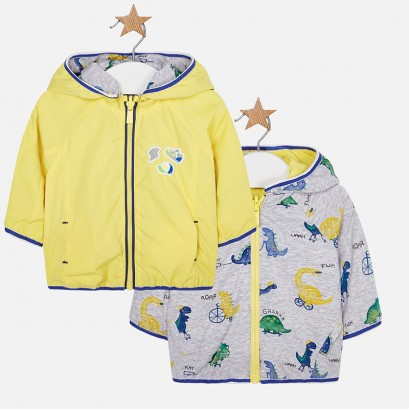 Baby Boys Reversible Hooded Jacket Mayoral