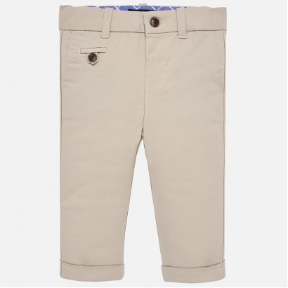 Baby Boys Linen Trousers Mayoral