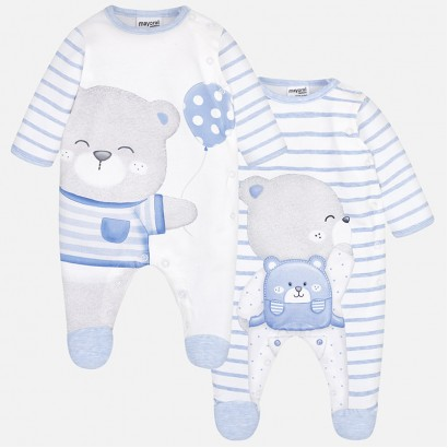 Baby Boys Footed Pajama Mayoral