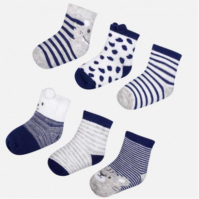 Baby Boys Set of 6 pairs of Socks Mayoral