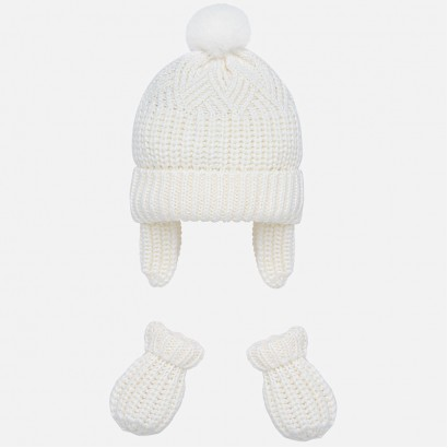 Baby winter set of hat and gloves Mayoral