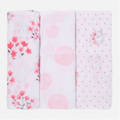 Baby Patterned Muslin Cloth Set Mayoral