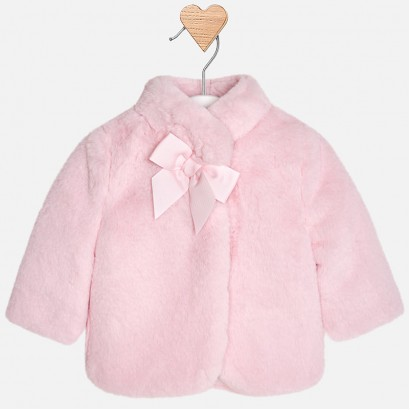 Baby Faux Wool Coat Mayoral