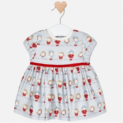 Baby Patterned Dress Mayoral
