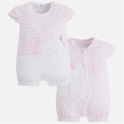 Baby Girl 2 piece Romper Mayoral