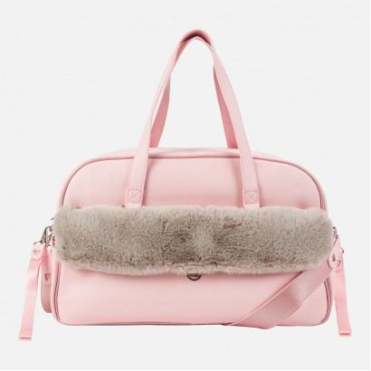 Bag for baby accessories with fluff Mayoral