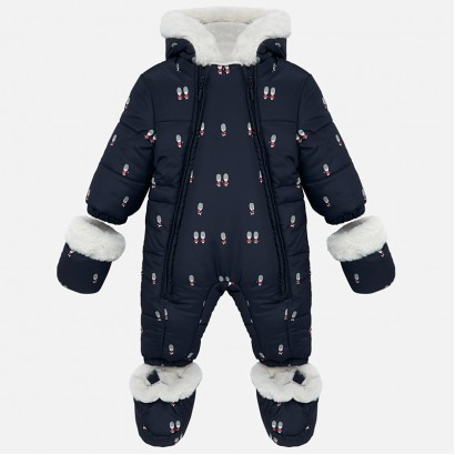 Baby hooded coverall Mayoral